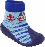 Blue Boat Red Anchor BabyShocks from Footsie 100 Ltd & Bical