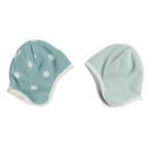 Blue Hat with White Spots by Organics for Kids