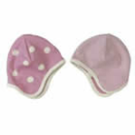 Pink Hat with White Spots by Organics for Kids