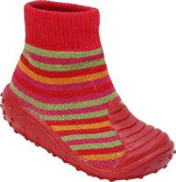 Red Stripey BabyShocks from Footsie 100 Ltd & Bical