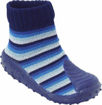 Stripey Blue BabyShocks from Footsie 100 Ltd & Bical